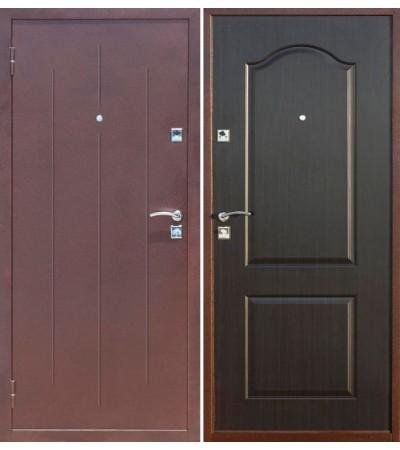 Дверь металлическая Стройгост 7-2 Венге