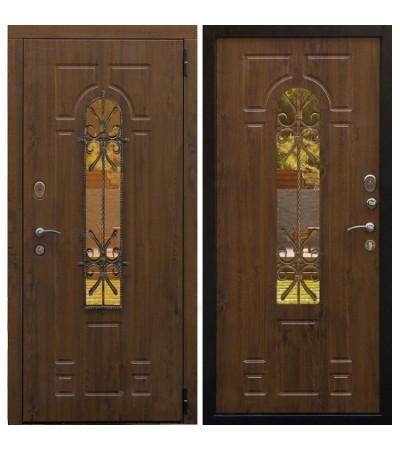 Дверь металлическая Лацио РФ Грецкий орех