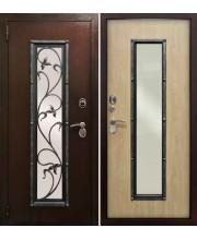 Дверь металлическая Плющ РФ Карпатская ель