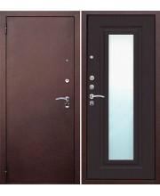 Дверь металлическая Царское зеркало Венге