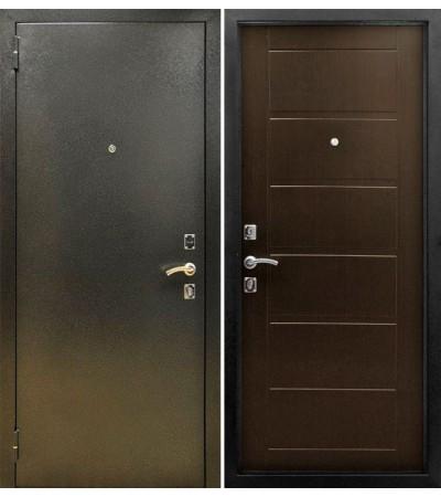 Дверь металлическая Сити Венге