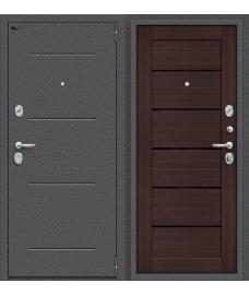 Дверь входная металлическая Porta S 104.П22 Антик Серебро / Cappuccino Veralinga