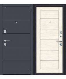Дверь входная металлическая Porta S 4.П50 Almon 28 / Cappuccino Veralinga