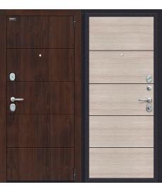 Дверь входная металлическая Porta S 10.П50 Graphite Pro / Nordic Oak