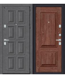 Дверь входная металлическая Porta M 4.П23 Almon 28 / Wenge Veralinga