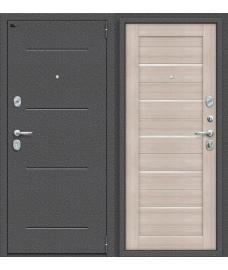 Дверь входная металлическая Porta S 104.П22 Антик Серебро / Bianco Veralinga