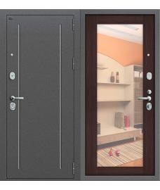 Дверь входная металлическая Groff Т2-220 Антик Серебро / Cappuccino Veralinga
