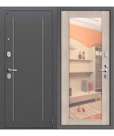 Дверь входная металлическая Groff Т2-221 Антик Серебро / Cappuccino Veralinga