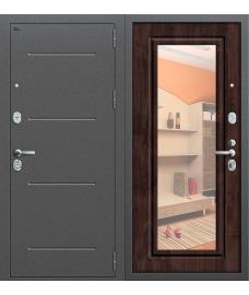 Дверь входная металлическая Groff Р2-215 Антик Серебро / П-25 Беленый Дуб