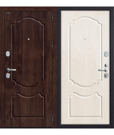 Дверь входная металлическая Groff Р3-310 П-1 Темный Орех / П-1 Темный Орех