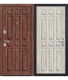 Дверь входная металлическая Groff Р3-315 П-26 Французский Дуб / П-25 Беленый Дуб
