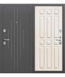 Дверь входная металлическая Groff Т3-300 Tobacco Oak / Natural Oak