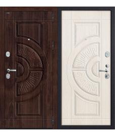 Дверь входная металлическая Groff Р3-312 П-4 Золотой Дуб / П-4 Золотой Дуб