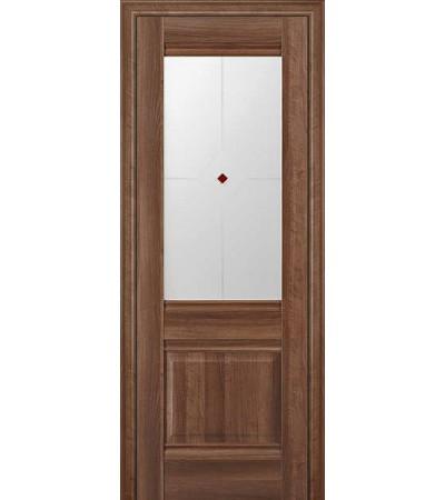 Межкомнатная дверь Профиль Дорс 2X  Орех Сиена