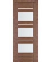 Межкомнатная дверь Профиль Дорс 41Х Малага Чери Кроскут