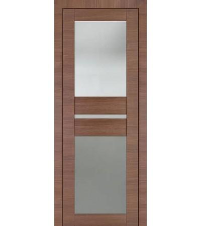 Межкомнатная дверь Профиль Дорс 70Х Малага Чери Кроскут
